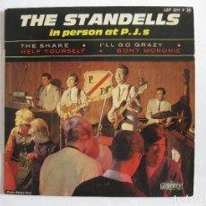 Discos de vinilo: THE STANDELLS - EP FRANCIA - THE SHAKE ( SE VENDE SÓLO PORTADA SIN VINILO EN SU INTERIOR). Lote 154877678