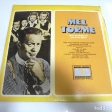 Discos de vinilo: LP. MEL TORME. WITH THE MELTONES AND ARTIE SHAW. EVEREST RECORDS. Lote 154882610