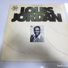 Discos de vinilo: LP. THE BEST OF LOUIS JORDAN. 20 TRACKS. 1976. MCA RECORDS. Lote 154885038