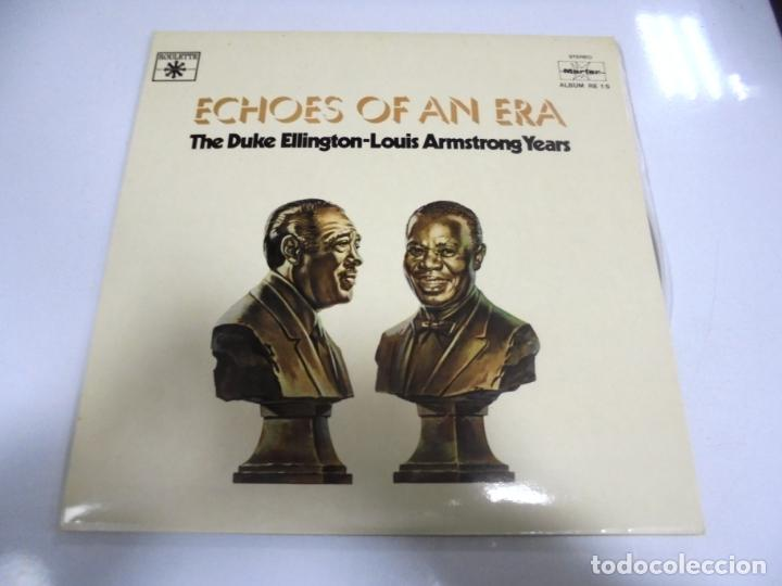 LP. DOBLE. ECHOES OF AN ERA. THE DUKE ELLINGTON-LOUIS ARMSTRONG YEARS. (Música - Discos - LP Vinilo - Otros estilos)