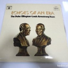 Discos de vinilo: LP. DOBLE. ECHOES OF AN ERA. THE DUKE ELLINGTON-LOUIS ARMSTRONG YEARS.. Lote 154888938