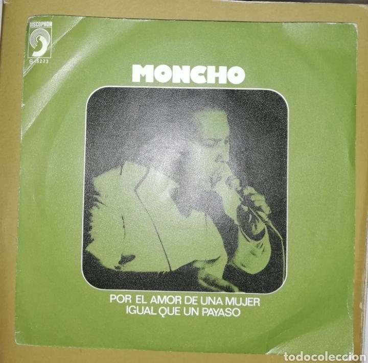 MONCHO - POR EL AMOR A UNA MUJER (Música - Discos - Singles Vinilo - Solistas Españoles de los 70 a la actualidad)