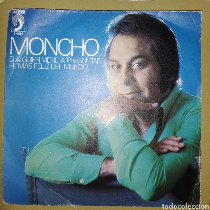 MONCHO - Y SI ALGUIEN VIENE A PREGUNTAR (Música - Discos - Singles Vinilo - Solistas Españoles de los 70 a la actualidad)