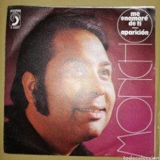 Discos de vinilo: MONCHO - ME ENAMORÉ DE TI. Lote 154897554