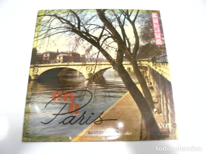 MAXI SINGLES. ECOS DE PARIS. GEORGE FEYER Y SU RITMO. BELTER (Música - Discos de Vinilo - Maxi Singles - Otros estilos)