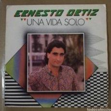 Discos de vinilo: ERNESTO ORTIZ - UNA VIDA SOLO. Lote 154899356