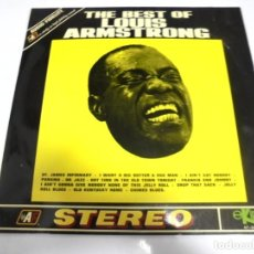 Discos de vinilo: LP. THE BEST OF LOUIS ARMSTRONG. 1970. EKIPO S.A. Lote 154909578