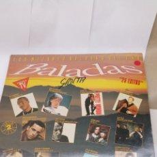 Discos de vinilo: DISCOS DE VINILO LAS MEJORES BALADAS DEL AÑO 1990. Lote 154910617