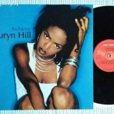 Discos de vinilo: LAURYN HILL '' EX-FACTOR '' MAXI SINGLE 12'' 45 RPM 1998 EU. Lote 154913902
