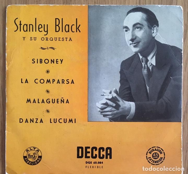 STANLEY BLACK SIBONEY EP EDIC ESPAÑA DECCA BIEN CONSERVADO (Música - Discos de Vinilo - EPs - Orquestas)