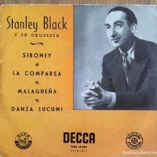 Discos de vinilo: STANLEY BLACK SIBONEY EP EDIC ESPAÑA DECCA BIEN CONSERVADO. Lote 154916150