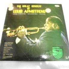 Discos de vinilo: LP. DOBLE. THE GREAT CONCERT OF LOUIS ARMSTRONG. 1976. MUSIDISC-EUROPE. Lote 154919154