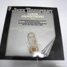 Discos de vinilo: LP. LOUIS ARMSTRONG. SATCHMO. VOL.9. DISCOPHON 1974. Lote 154923458