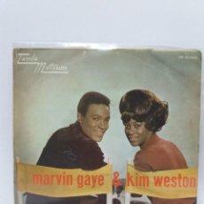 Discos de vinilo: SINGLE ** MARVIN GAYE & KIM WESTON ** TOMA DOS ** COVER/ EXCELLENT ** SINGLE/ EX / NEAR MINT ** 1969. Lote 154926962