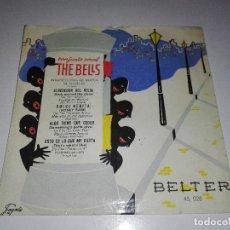 Discos de vinilo: DISCO CONJUNTO VOCAL THE BELLS EP 45 RPM ROCK AROUND THE CLOCK BELTER ESPAÑA. Lote 154928278