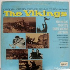 Discos de vinilo: BSO LOS VIKINGOS. THE VIKINGS DE MARIO NASCIMBENE. Lote 154930502