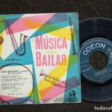 Discos de vinilo: SINGLE - MUSICA PARA BAILAR - LUIS ARAQUE Y SU PIANO. Lote 154931250