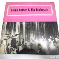 Discos de vinilo: LP. BENNY CARTER & HIS ORCHESTRA. ALAMAC RECORD COMPANY. Lote 154945662