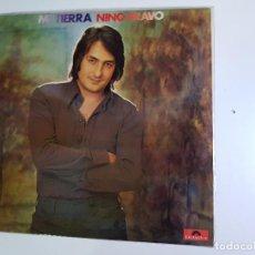 Discos de vinilo: NINO BRAVO - MI TIERRA (VINILO). Lote 154947534