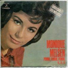 Discos de vinilo: MONIQUE MELSEN / POMME,POMME,POMME / FA,..FA,..FA (SINGLE PROMO 1971). Lote 154966234