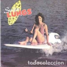 Discos de vinilo: SURFIN' LUNGS - SURF-JET GIRL. Lote 154966254