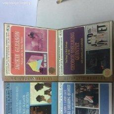 Discos de vinilo: GEORGE SHEARING QUINTET Y JACKIE GLEASON CUATRO BOBINAS PRESINTADAS DE MUSICA USA. Lote 153664134