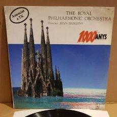 Discos de vinilo: THE ROYAL PHILARMONIC ORCHESTRA / 1000 ANYS / JOAN BARCONS / LP-HORUS-1988 / MBC. ***/***. Lote 154974286