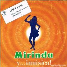 Discos de vinilo: LOS PASOS - PRIMAVERA EN LA CIUDAD / ANOUSCHTKA - SINGLE 1969 - PROMO MIRINDA 7. Lote 154977482