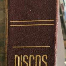 Discos de vinilo: PRECIOSA CARPETA AÑOS 40 CON 10 DISCOS EP 33 1/3. Lote 154984038