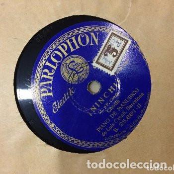 Discos de vinilo: PRECIOSA CARPETA AÑOS 40 CON 10 DISCOS EP 33 1/3 - Foto 9 - 154984038