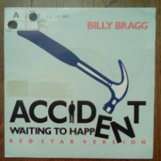 Discos de vinilo: BILLY BRAGG - ACCIDENTE WAITING TO HAPPEN, DRO, 1992. SPAIN.. Lote 154985254