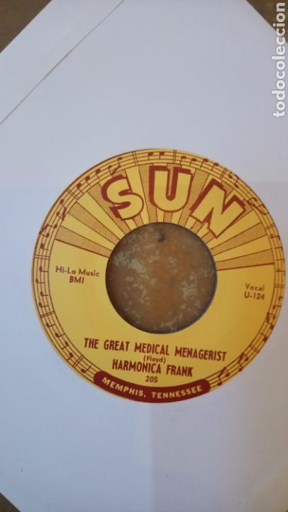 Discos de vinilo: Harmonica Frank–Rockin Chair Daddy . Sun récords. Re. 2013. Nuevo. - Foto 2 - 154985624