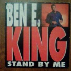 Discos de vinilo: BEN E. KING - STAND BY ME / AMOR, DIVUCSA, 1993. SPAIN.. Lote 154986498