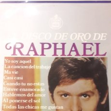 Discos de vinilo: EL DISCO DE ORO DE RAPHAEL HISPAVOX. Lote 154992908