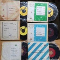 Discos de vinilo: 6 SINGLES DE DIEZ CEPEDA.DISCOS BOA.VER FOTOS. Lote 154994750