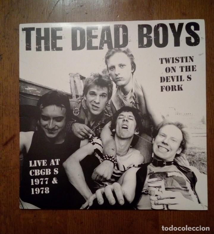 THE DEAD BOYS - LIVE AT CBGB S 1977 & 1978, HELL YEAH, 1997. US. (Música - Discos - LP Vinilo - Punk - Hard Core)