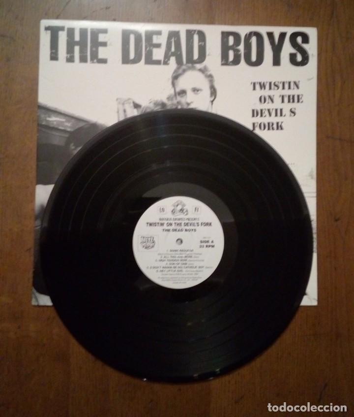Discos de vinilo: The Dead Boys - Live at CBGB s 1977 & 1978, Hell Yeah, 1997. US. - Foto 3 - 154994794