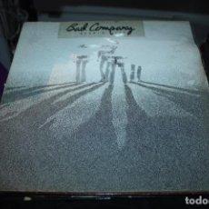 Discos de vinilo: BAD COMPANY BURNIN SKY LP CAJA BASTANTE DETERIORADA. Lote 154995166