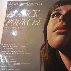 Discos de vinilo: FRANCK POURCEL Y SU ORQUESTA 1965 VOL.4 EMI CSDL 1267. Lote 154995197
