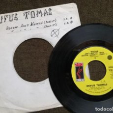Discos de vinilo: RUFUS THOMAS – BOOGIE AIN'T NUTTIN' (BUT GETTIN' DOWN). Lote 154996434