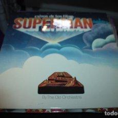 Discos de vinilo: EXITOS DEL FILMS SUPERMAN Y LA GALACTICA. Lote 154996750