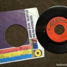 Discos de vinilo: CLARENCE REID - FUNKY PARTY / WINTER MAN SINGLE ALSTON. Lote 154996842