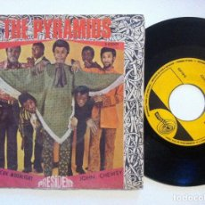 Discos de vinilo: THE PYRAMIDS - MEXICAN MOONLIGHT / JOHN CHEWEY - SINGLE 1968 - PRESIDENT. Lote 154997214