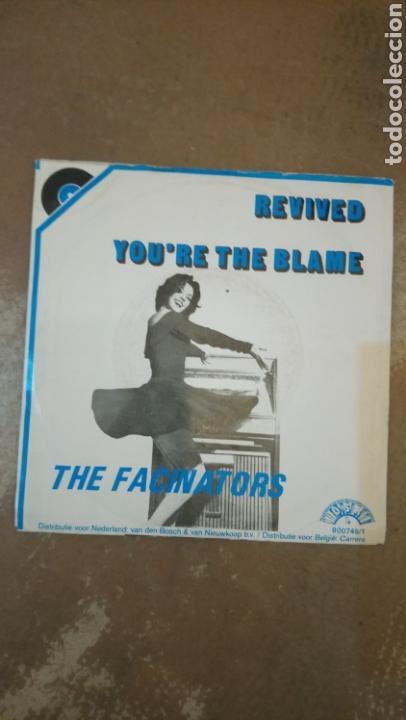 Discos de vinilo: The Fascinators –Youre The Blame / Revived . Single 1980.rock & roll instrumental. Buen estado - Foto 2 - 154997494