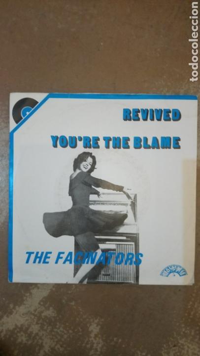 THE FASCINATORS –YOU'RE THE BLAME / REVIVED . SINGLE 1980.ROCK & ROLL INSTRUMENTAL. BUEN ESTADO (Música - Discos - Singles Vinilo - Rock & Roll)