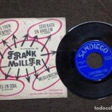 Discos de vinilo: ORQUESTA DE FRANK MILLER RARO SINGLE EP DE CUATRO CANCIONES DE LA CASA SAN DIEGO DE 1974. Lote 154997546