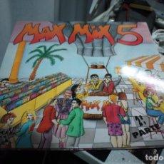 Discos de vinilo: MAX MIX 5 - 2ª PARTE .. 2 LP´S - PORTADA ABIERTA . 1987 .. TAVARES, KOOL THE GAN ,.. ETC. Lote 154998102