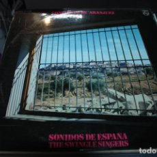 Discos de vinilo: CONCIERTO DE ARANJUEZ, SONIDOS DE ESPAÑA, THE SWINGLE SINGERS. Lote 155000074