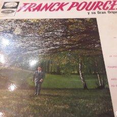 Discos de vinilo: 1965 FRANCK POURCEL Y SU ORQUESTA LCLP 250 FRANCÉS TEMAS. Lote 155000136
