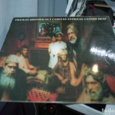 Discos de vinilo: CANNED HEAT HISTORICAL FIGURES AND ANCIENT HEADS LP 1990 BGO ENGLAND. Lote 155000778